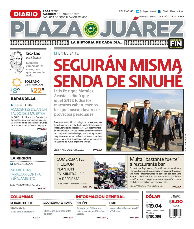 25 03 17 by Diario Plaza Juárez - issuu 31b6b75a659