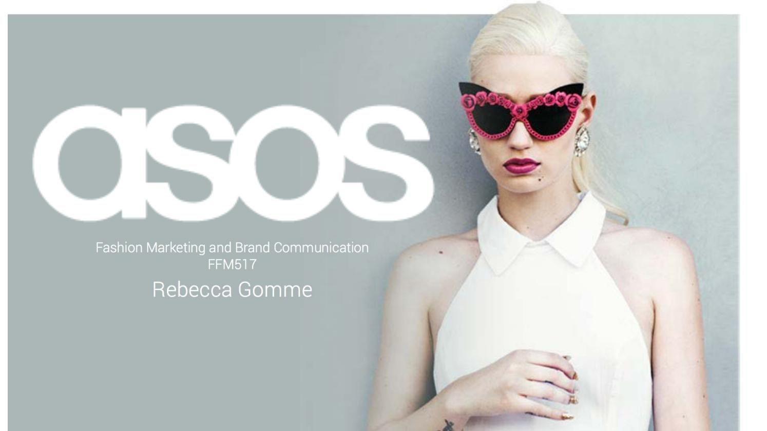 3a12c214a3143 ASOS Report by Rebecca Gomme - issuu