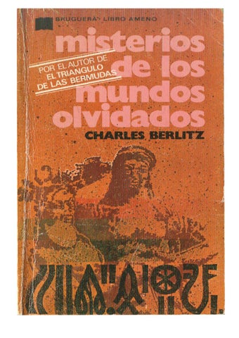 By Misterios Peter489 Issuu Charles Berlitz Mundos De Olvidados Los wnvOm80N