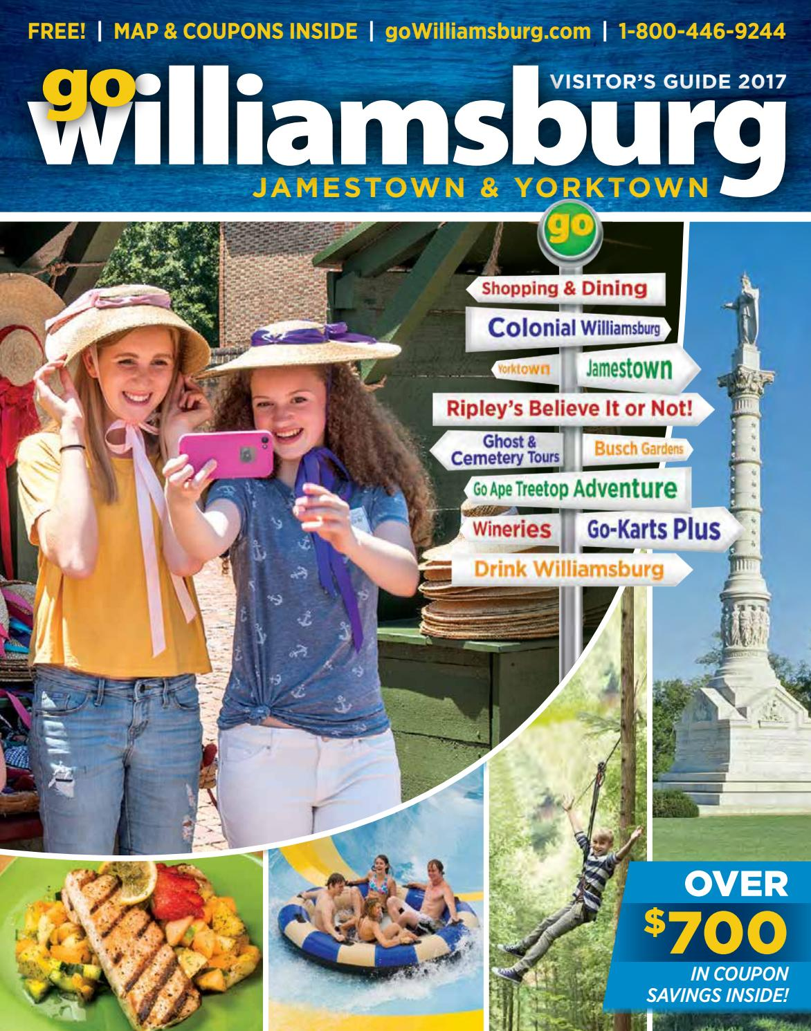6339 old york road - Gowilliamsburg Jamestown Yorktown Visitor S Guide 2017 By Vistagraphics Issuu