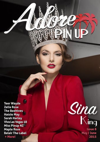 cc23d97f078 Adore Pin Up Magazine - Issue 8 May June 2015 by Adore Pin Up ...