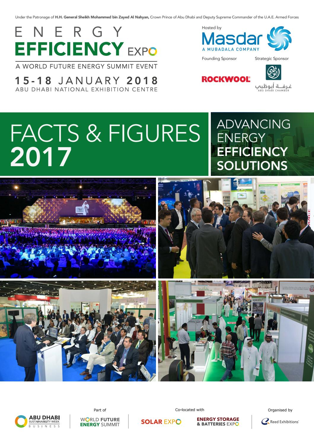 Energy efficiency expo facts figures 2017 by reed for Energy conservation facts