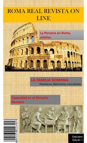 Matrimonio Romano Iustae Nuptiae : Roma real by revista logitips issuu