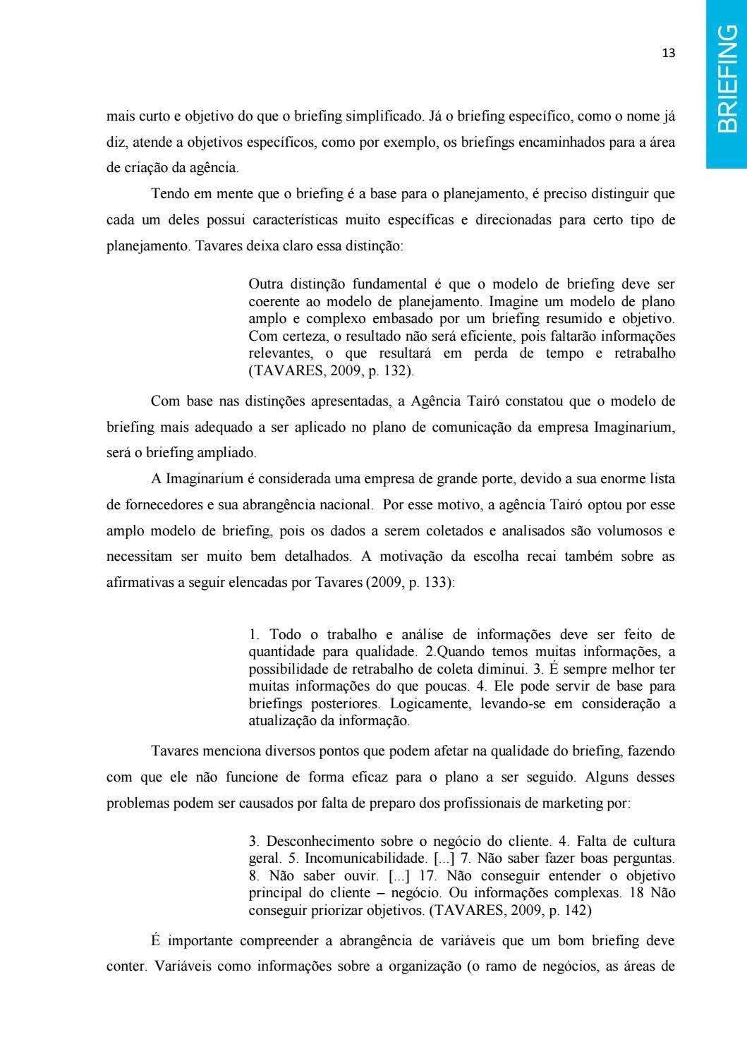 TCC - Imaginarium (Agência Tairó) by Glenda Conrad - issuu