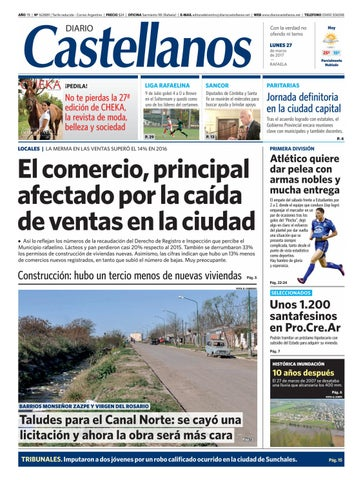 Diario Castellanos 27 03 by Diario Castellanos - issuu cf0c9640a9626