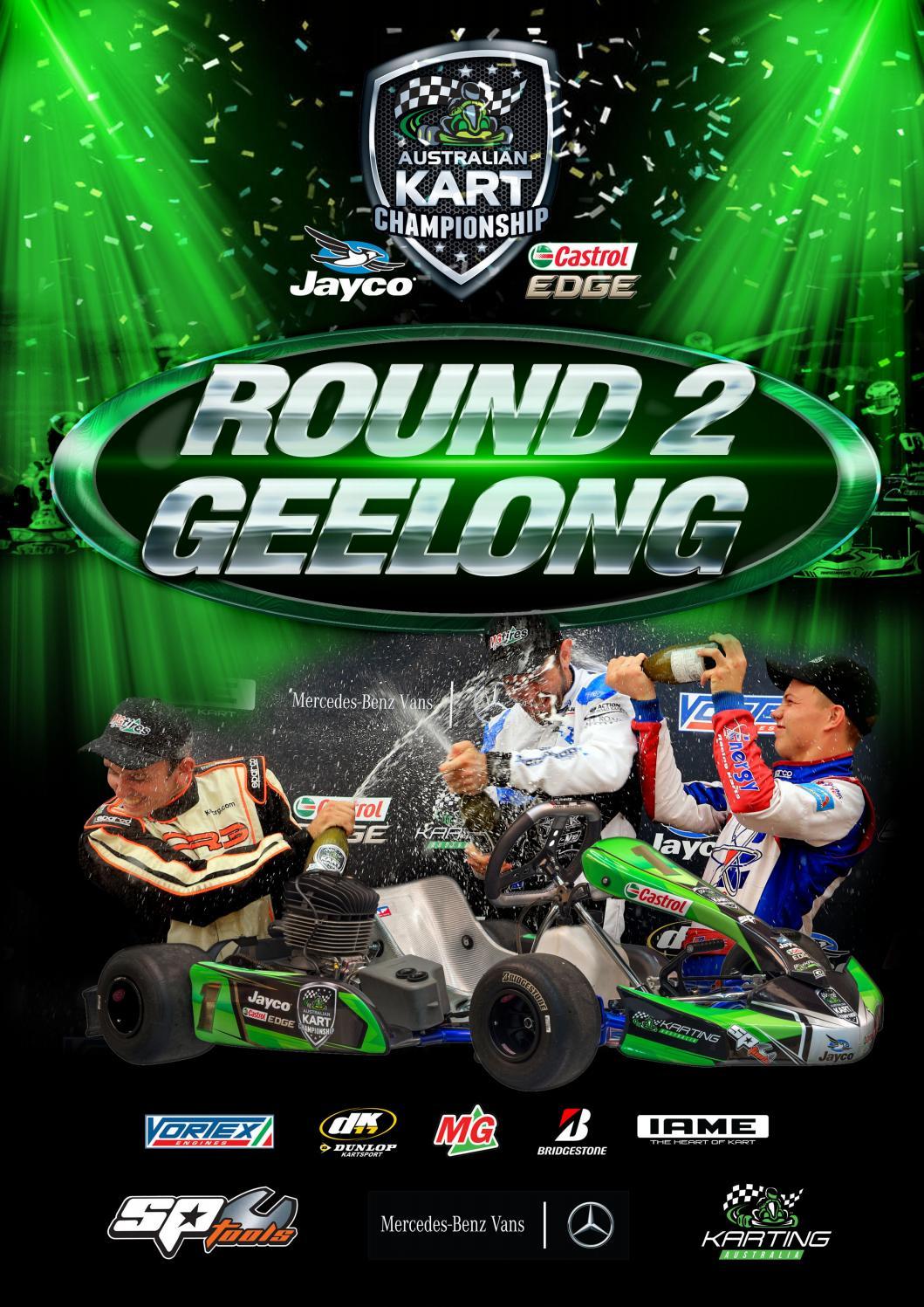 2017 Australian Kart Championship Round 2 Program by Karting