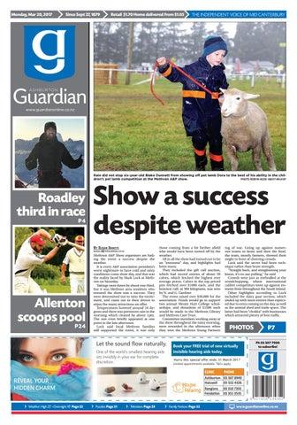 Ag 20 march 2017 by Ashburton Guardian - issuu