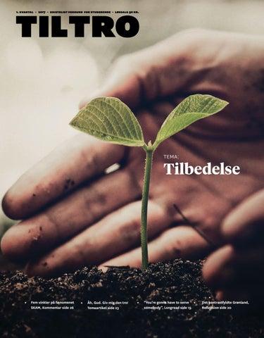 de9c2306 Til Tro #1 2017 - Tilbedelse by Kristeligt Forbund for Studerende ...