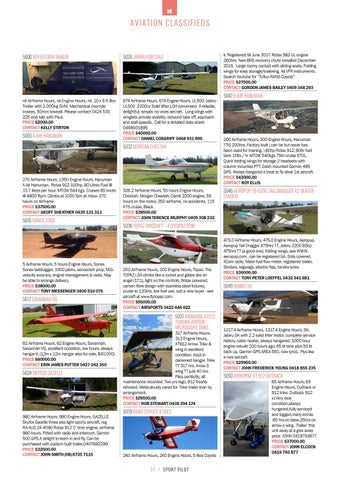 Sport pilot 68 april 2017 by Recreational Aviation Australia