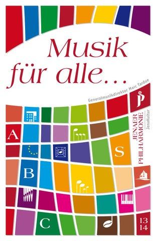 Jenaer Philharmonie Spielzeitheft 2014 2015 By Jenaer Philharmonie