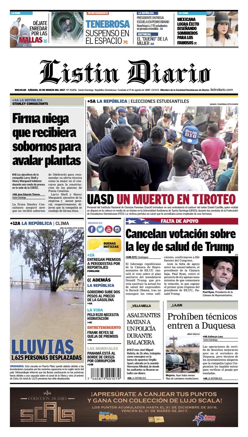 2017 03 25 by Listín Diario - issuu