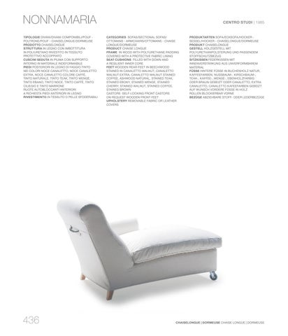 Poltrone Chaise Longue Design.Living Catalogue Vol 1 By Flexform Issuu