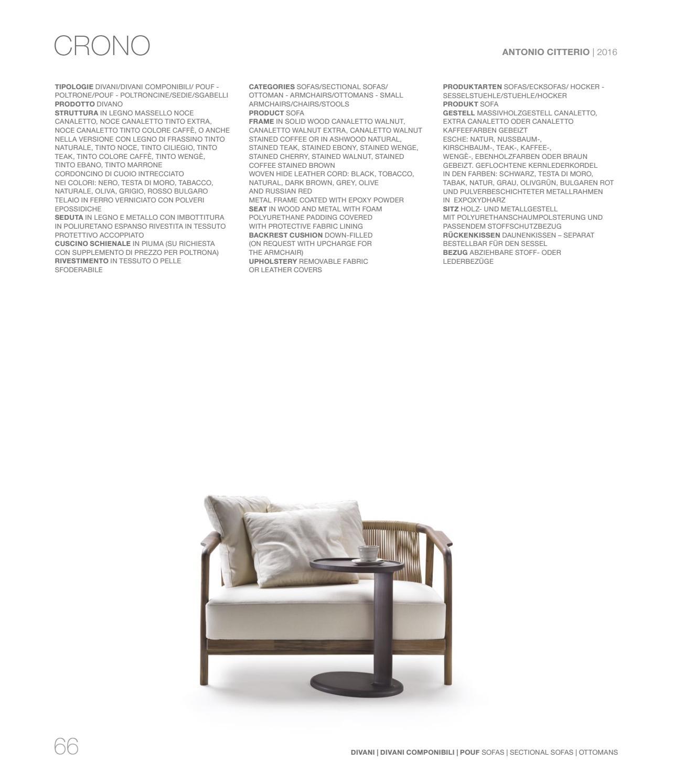 Divani In Pelle Testa Di Moro.Living Catalogue Vol 1 By Flexform Issuu