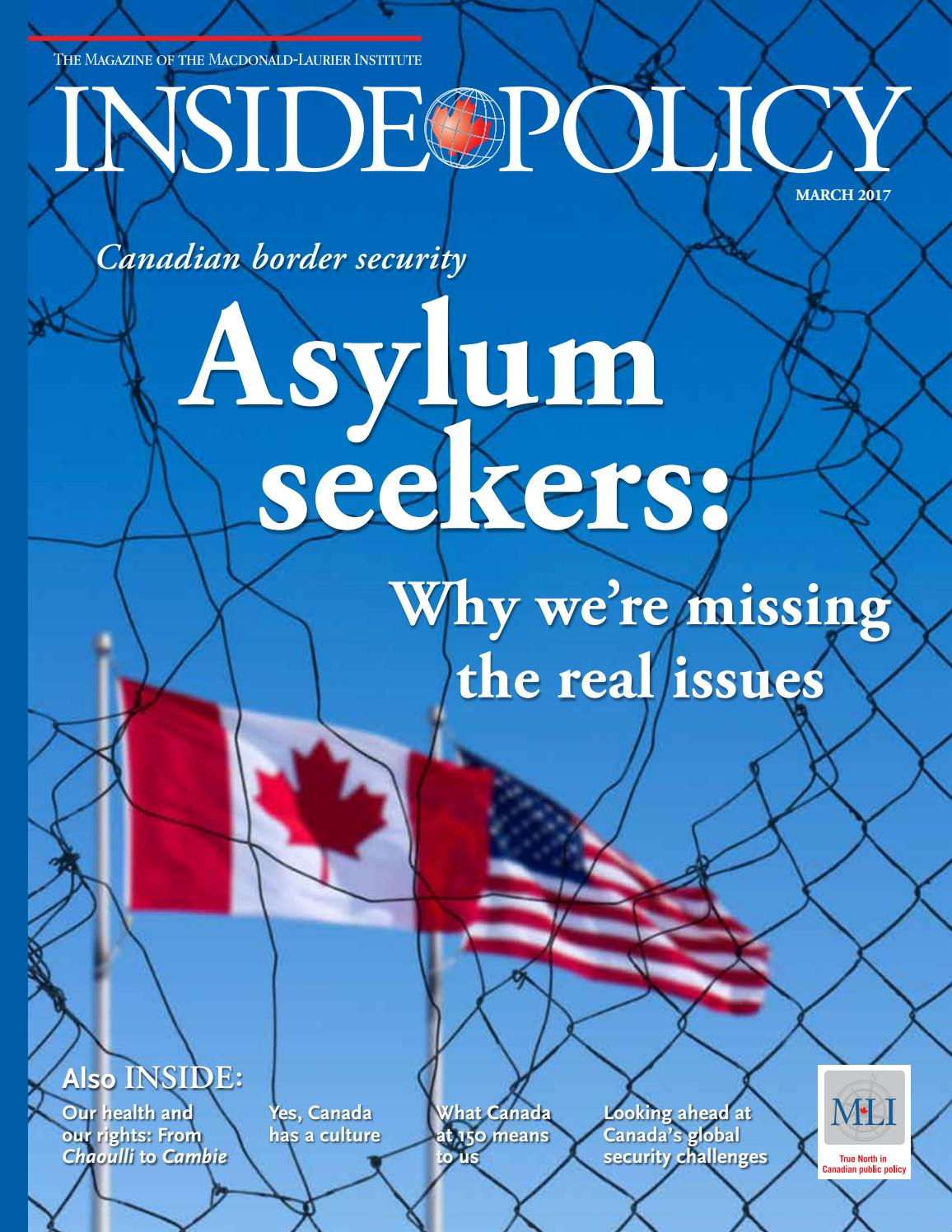 Inside Policy March 2017: Why we're missing the real issues on
