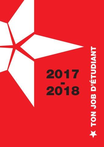 job etudiant noel 2018 belgique FGTB    Ton job d'étudiant 2017 2018   Publications job etudiant noel 2018 belgique