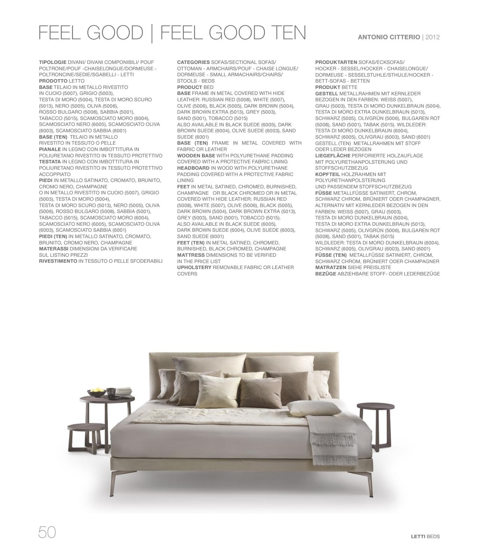 Divani In Pelle Testa Di Moro.Sleeping Catalogue Vol 3 By Flexform Issuu