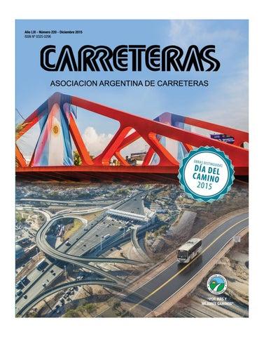 Revista Carreteras N° 220 by Asociación Argentina de Carreteras - issuu a8e12e1d970