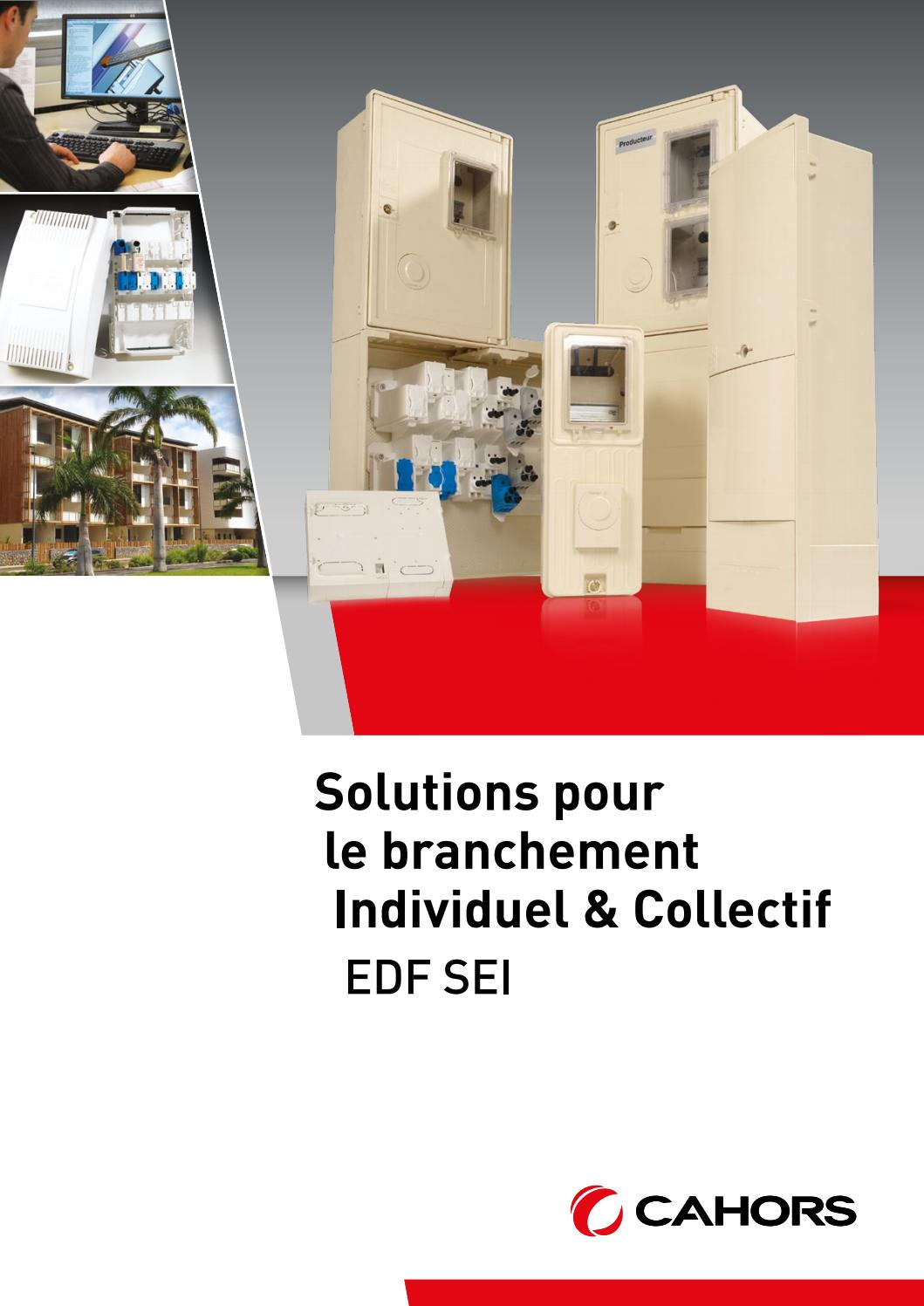 solutions branchement individuel collectif edf sei fr by cahors issuu. Black Bedroom Furniture Sets. Home Design Ideas