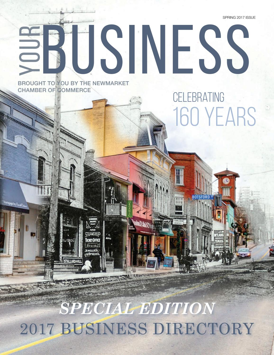 Your business spring 2017 directory by newmarket chamber of commerce issuu