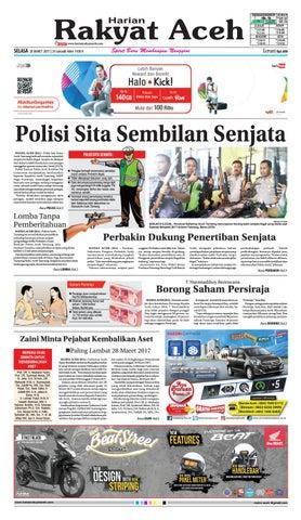 28 Maret 2017 By E Rakyat Aceh Issuu