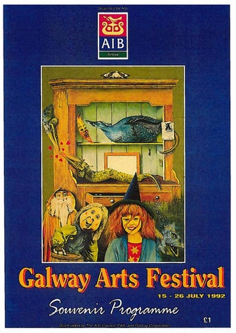 e3d33591462cc Galway Arts Festival Programme 1992 by Galway International Arts ...