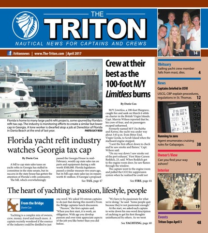 Triton April 2017 Vol 14 No 1 By The Triton Issuu