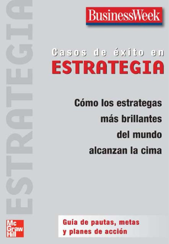 Casosdeexitoenestrategia1edi 140130103817 phpapp02 by EMMA VERONICA ...