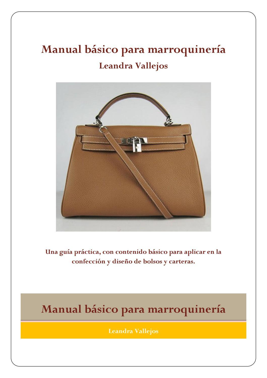 Manual de confección de bolsos by Rebeca Pablo - issuu