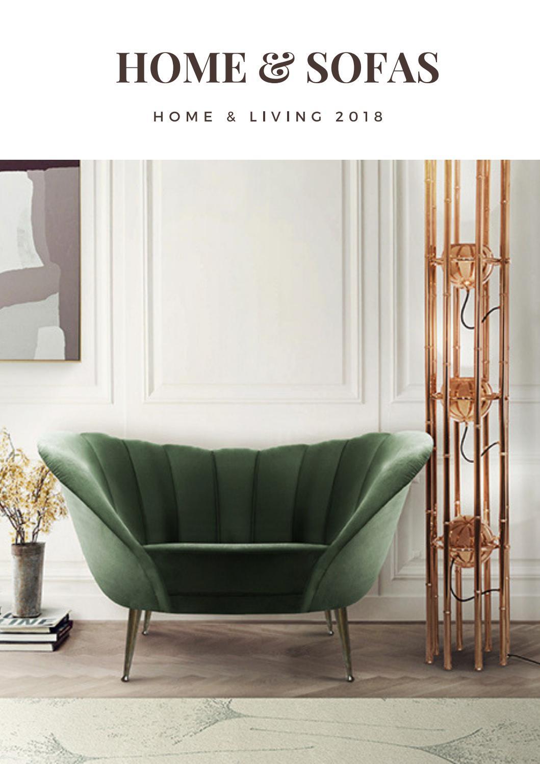 Modern sofas decor home ideas interior design trends 2018 luxury brands2 home living