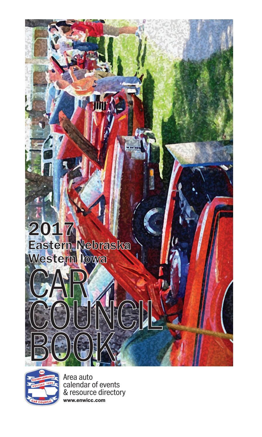 2017 Eastern NebraskaWestern Iowa Car Council Book