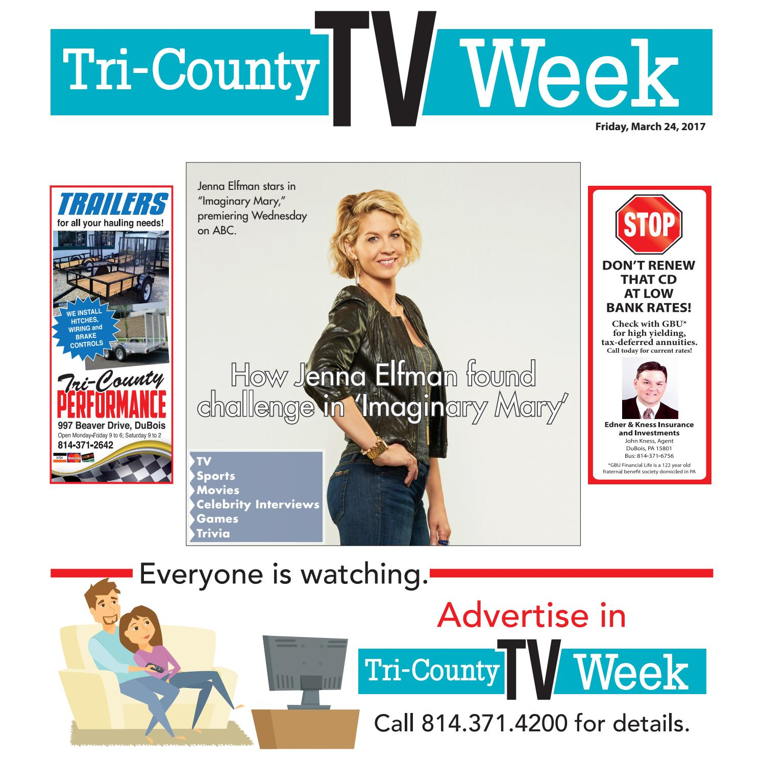 4a4b6fb9a916 CE TV WEEK 03-24-17 by Tri-County TV Week - issuu