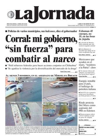 super popular b6bd3 a6a42 La Jornada, 03 27 2017 by La Jornada  DEMOS Desarrollo de Medios SA ...