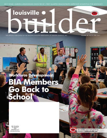 Louisville Builder April 2017 By Building Industry Association Of Greater Louisville Issuu