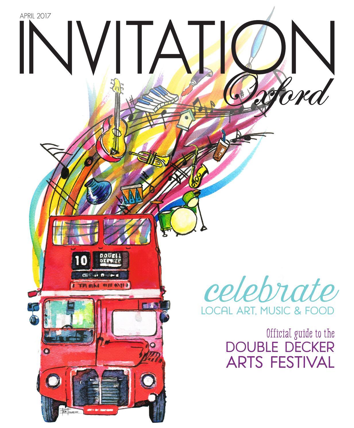 invitation oxford april 2017 by invitation magazines issuu
