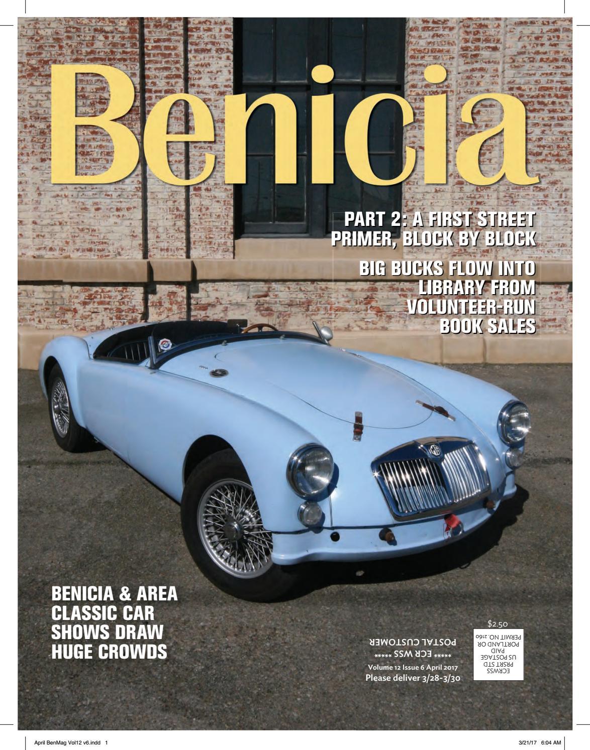 Benicia Magazine April 2017 by Polygon