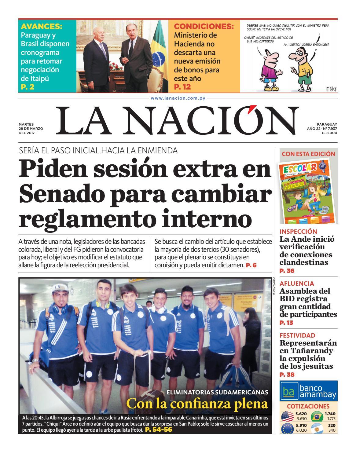 DIARIO LA NACIÓN - EDICIÓN 7.937 by La Nación - issuu