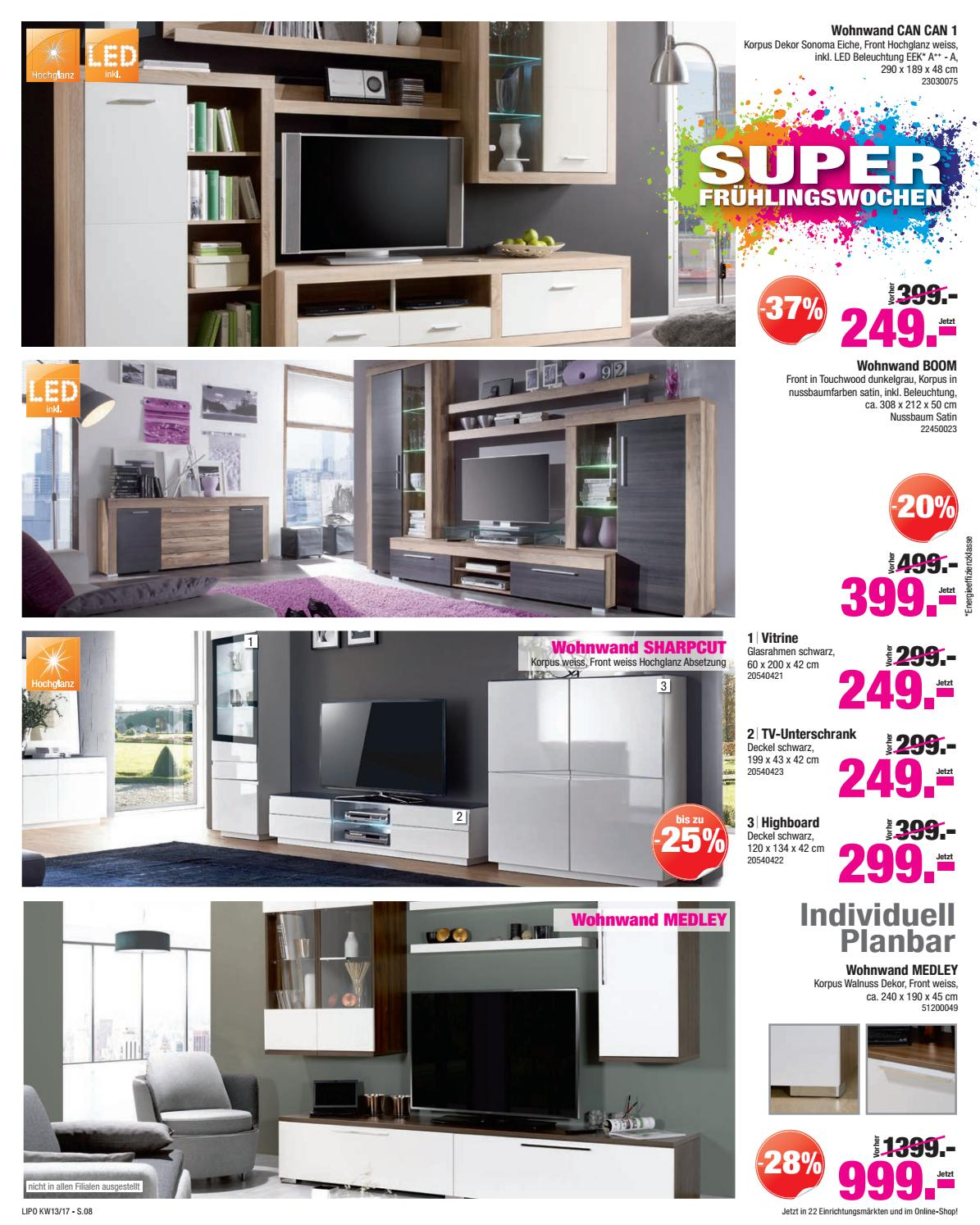 lipo prospekt kw13 by sitesmedia issuu. Black Bedroom Furniture Sets. Home Design Ideas