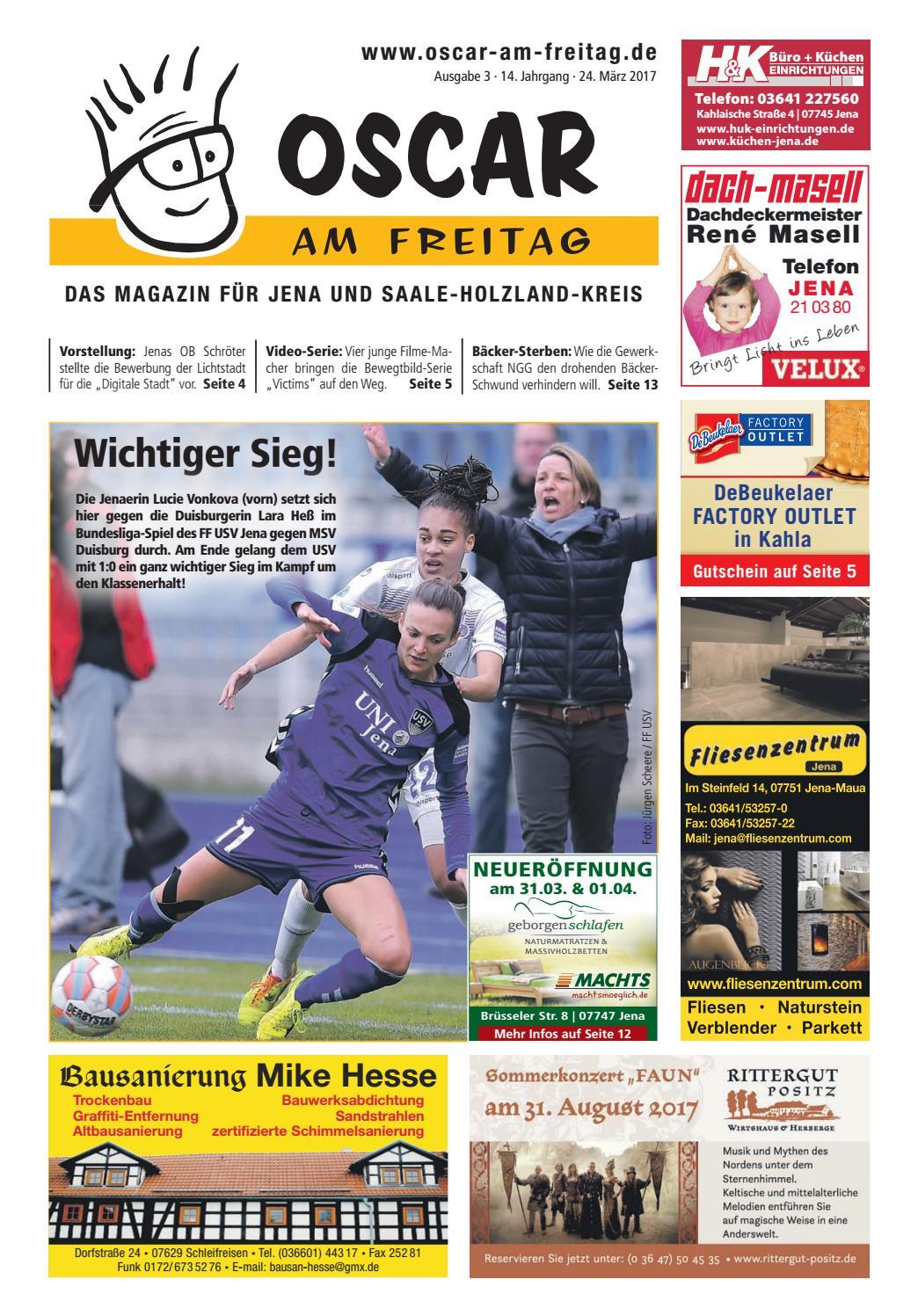 Oscar Am Freitag Jena Und Shk Ausgabe 3 24 03 2017 By