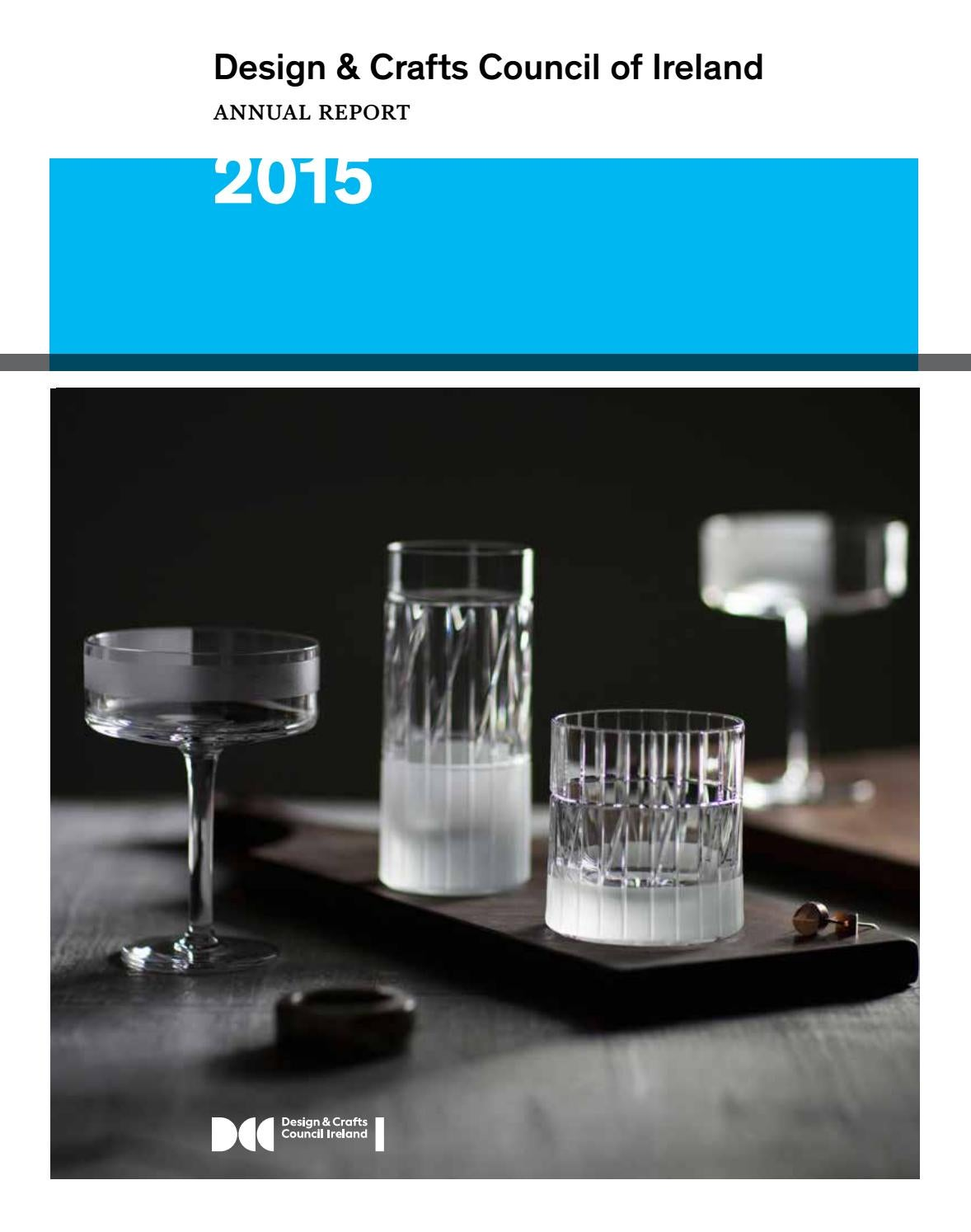 Design Crafts Council Of Ireland Annual Report 2015 By Focus Passenger Fuse Box Issuu