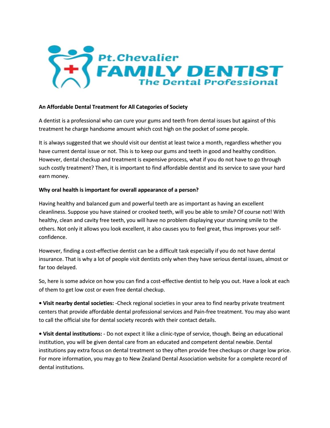 Pain Free Dental Treatment in Auckland New Zealand by