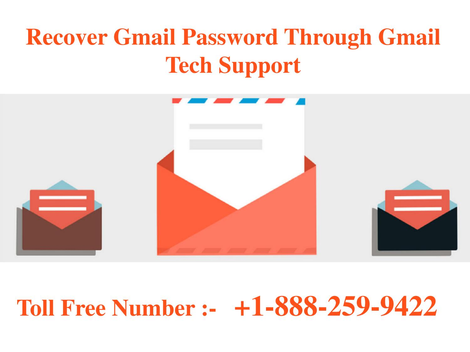 Recover Gmail Password In iPhone @+1-888-259-9422 by MIck