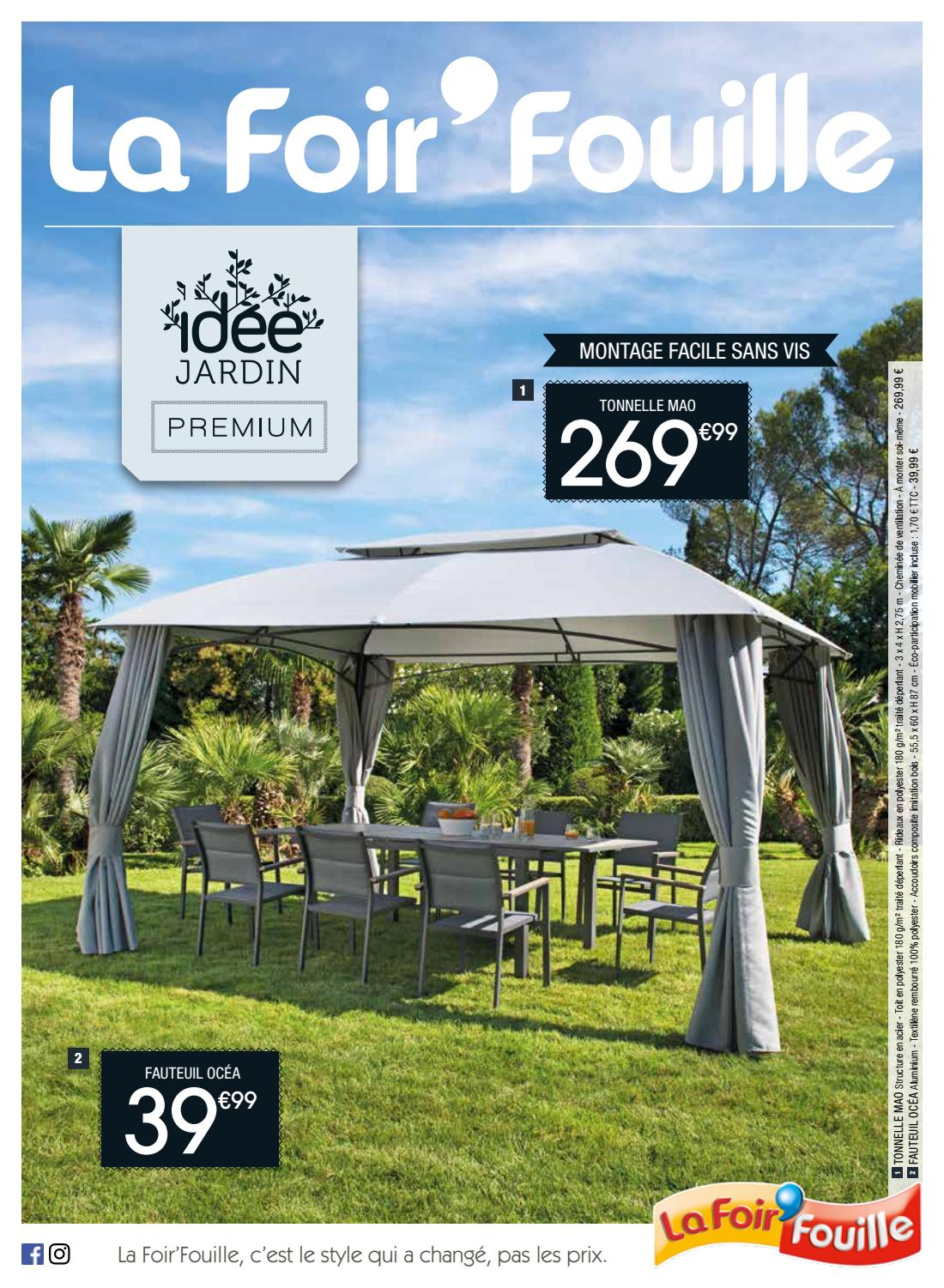 Catalogue idée jardin premium by La Foir\'Fouille - issuu
