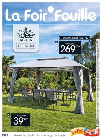 Catalogue id e jardin premium by la foir 39 fouille issuu - Tonnelle la foir fouille ...