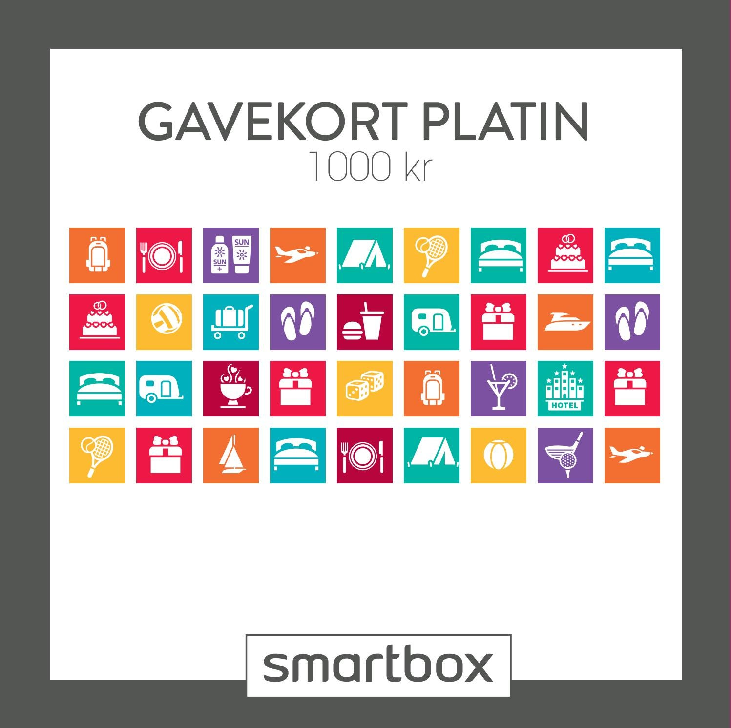 smartbox gavekort guld