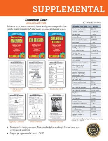 Ohio Experience 2017 Social Studies Curriculum Catalog for