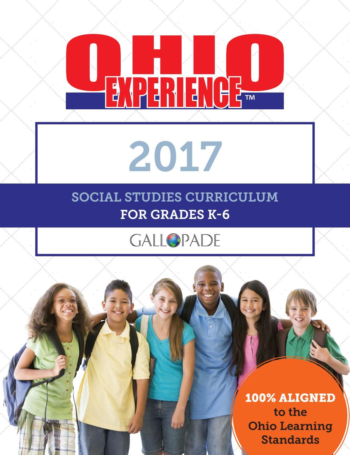 Ohio Experience 2017 Social Studies Curriculum Catalog by