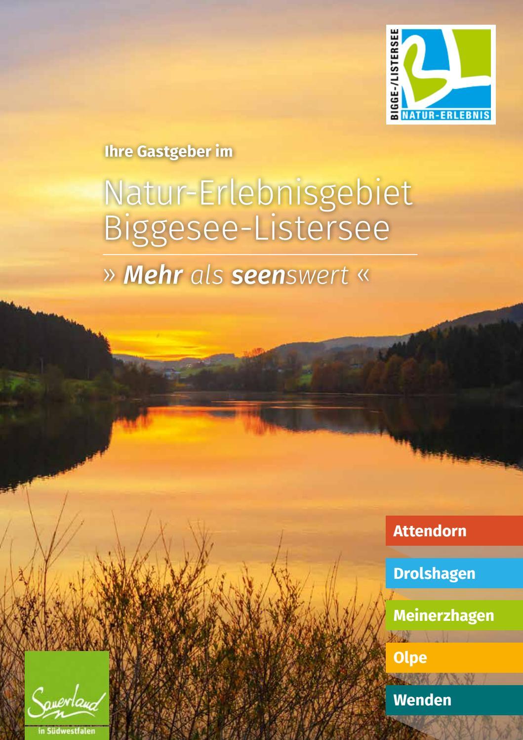 Gastgeberverzeichnis 2017 Biggesee Listersee By Frey Print