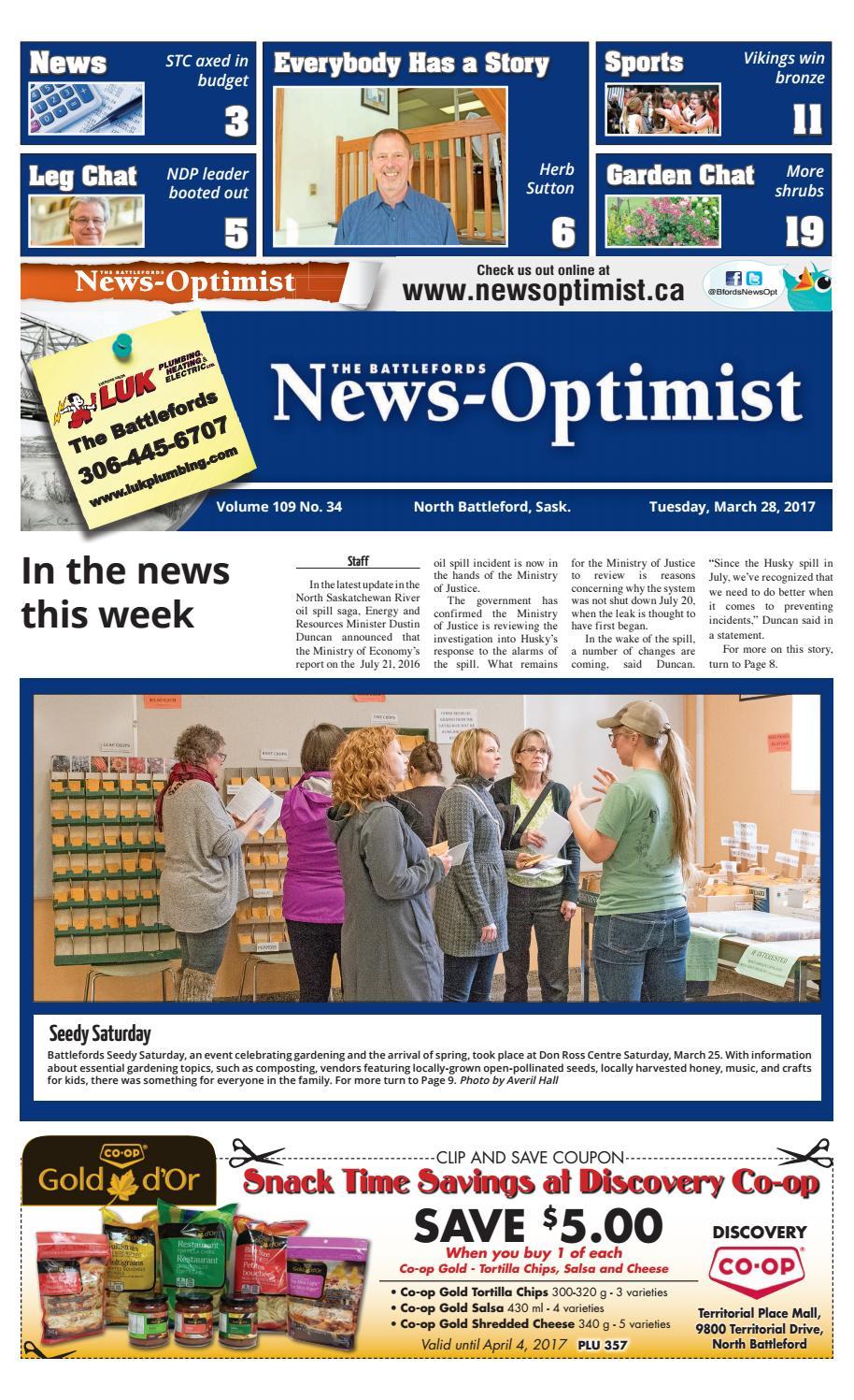 News Optimist March 28 by Battlefords News Optimist - issuu