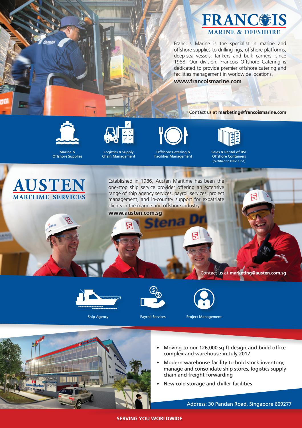 Offshore Support Journal April 2017 by rivieramaritimemedia