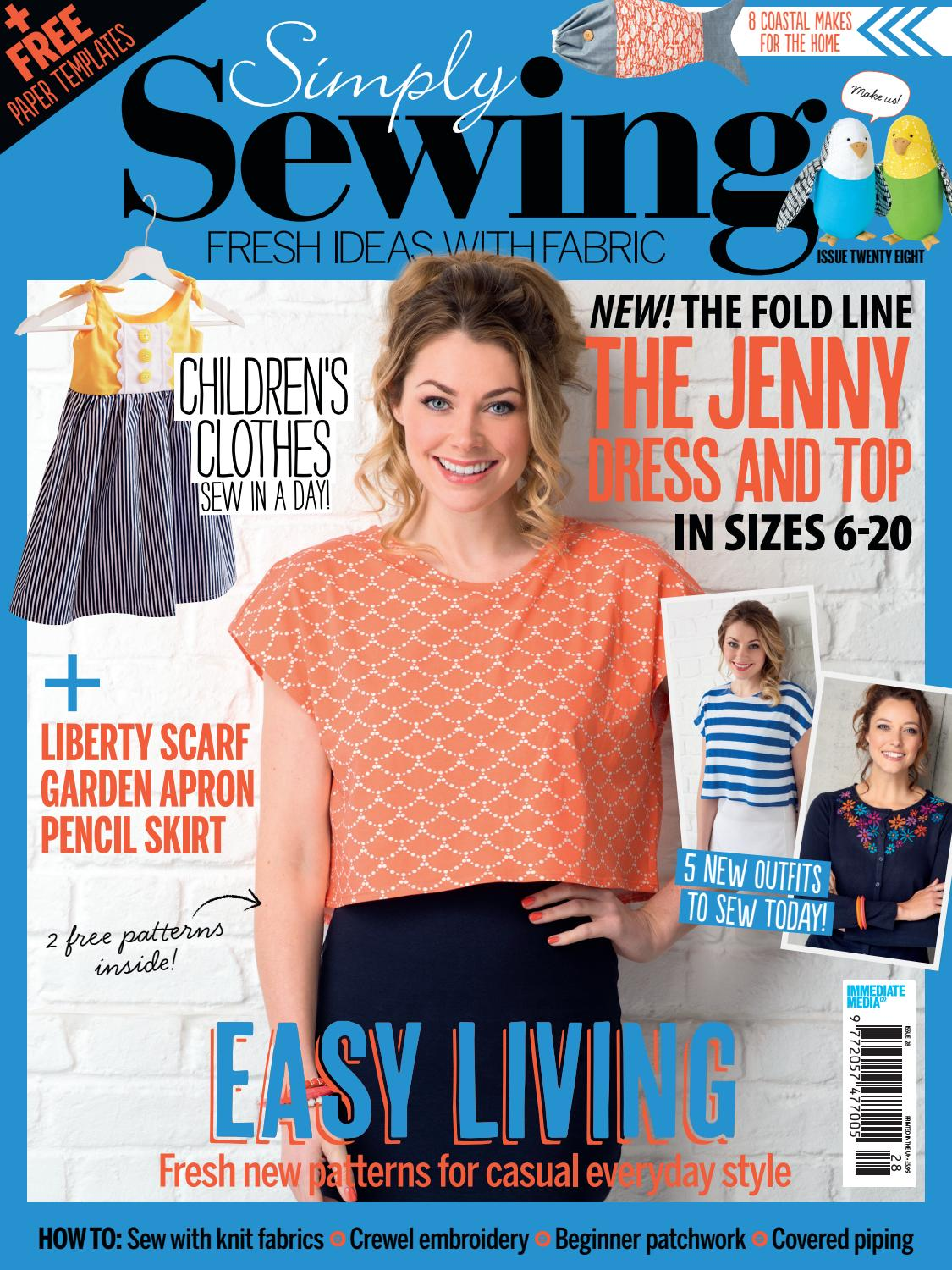 Simply sewing issue 28 by simply sewing issuu jeuxipadfo Image collections